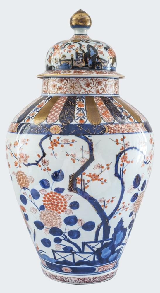 porcelaine japon edo imari vase. Black Bedroom Furniture Sets. Home Design Ideas