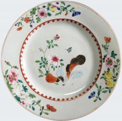 Porcelaine Fin de l'époque Yongzheng (1723-1735), début de l'époque Qianlong (1735-1795), Chine