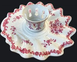 Famille rose Porcelaine Qianlong (1736-1795), circa 1760/1770, Chine
