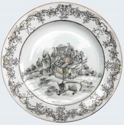 Porcelaine Qianlong (1735-1795), circa 1740, China