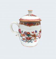 Famille rose Porcelaine Qianlong (1735-1795), circa 1750, Chine