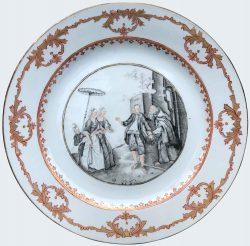 Porcelaine Qianlong (1735-1795), circa 1745-1755, Chine