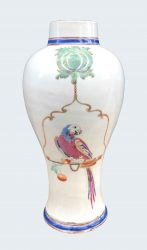 Famille rose Porcelaine Qianlong (1736-1795), circa 1740 , Chine