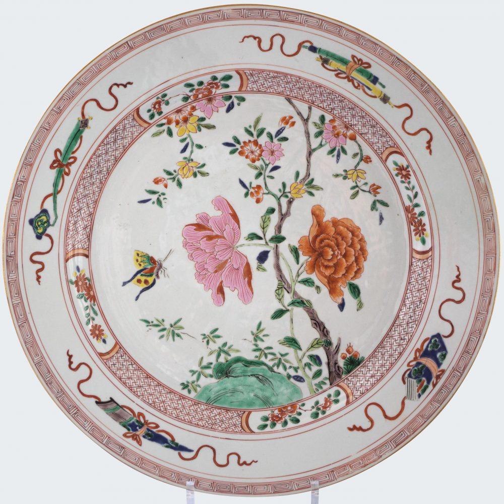 Famille rose Porcelaine  Yongzheng (1723-1735), circa 1725 ,