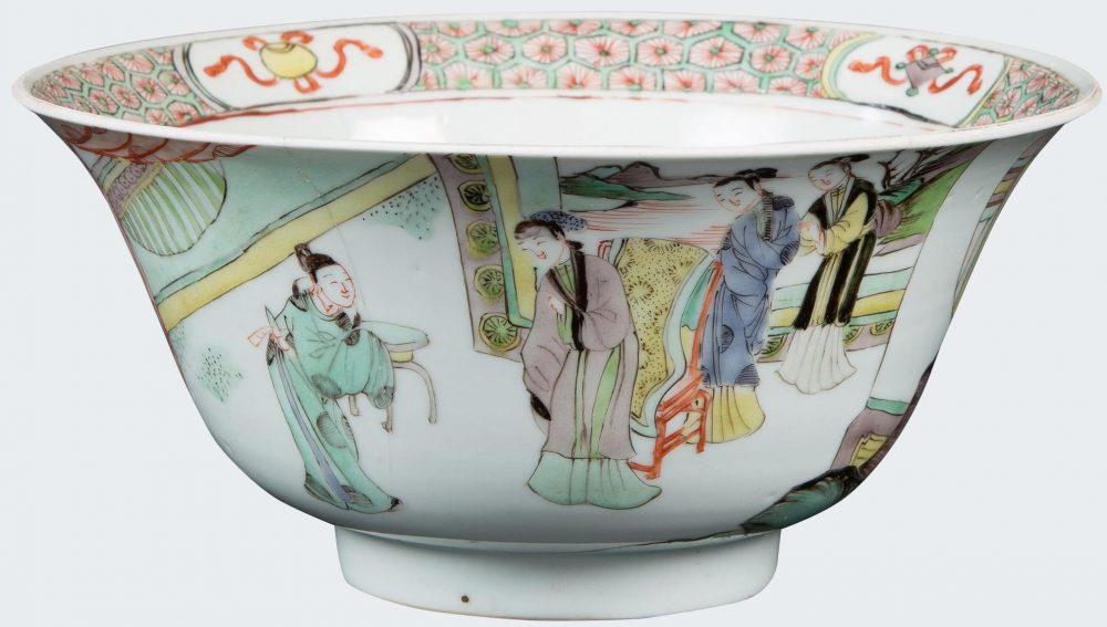 Famille verte Porcelaine Kangxi (1662-1722), circa 1700, Chine