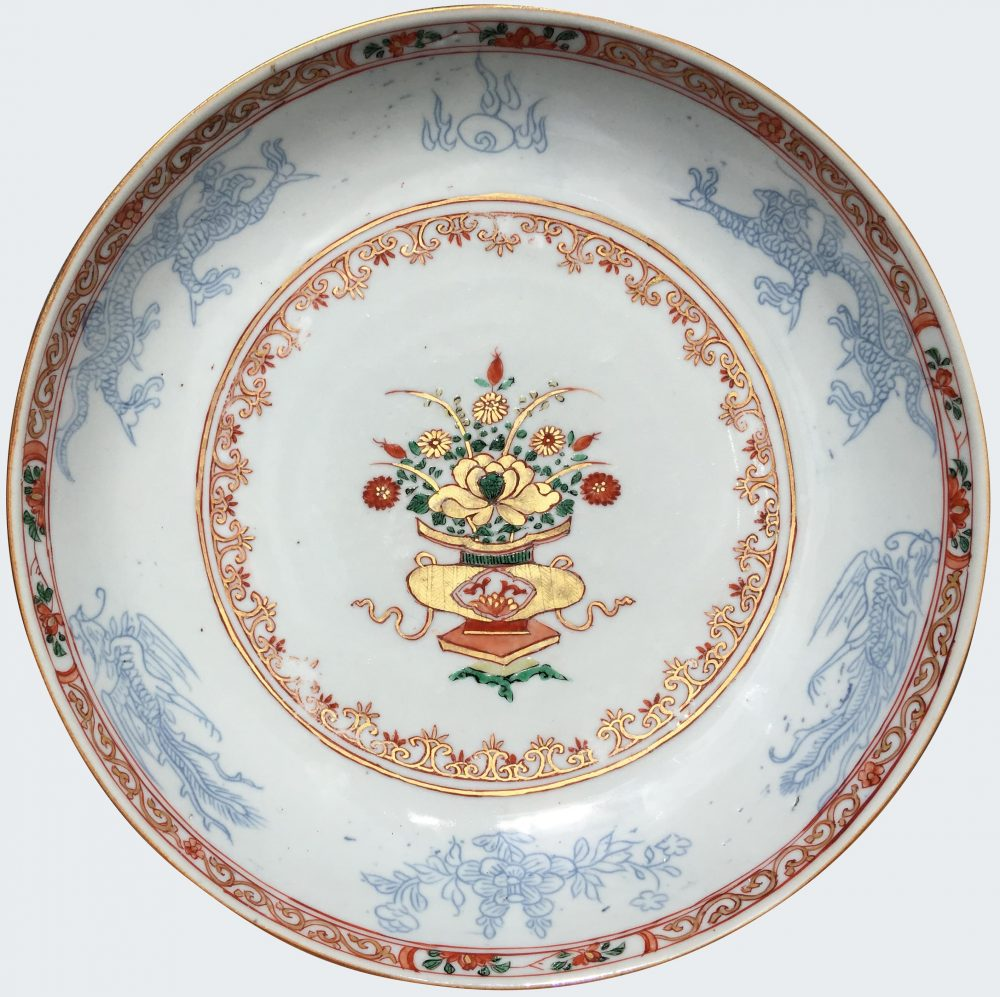 Famille verte Porcelaine  Kangxi (1662-1722), circa 1720, Chine
