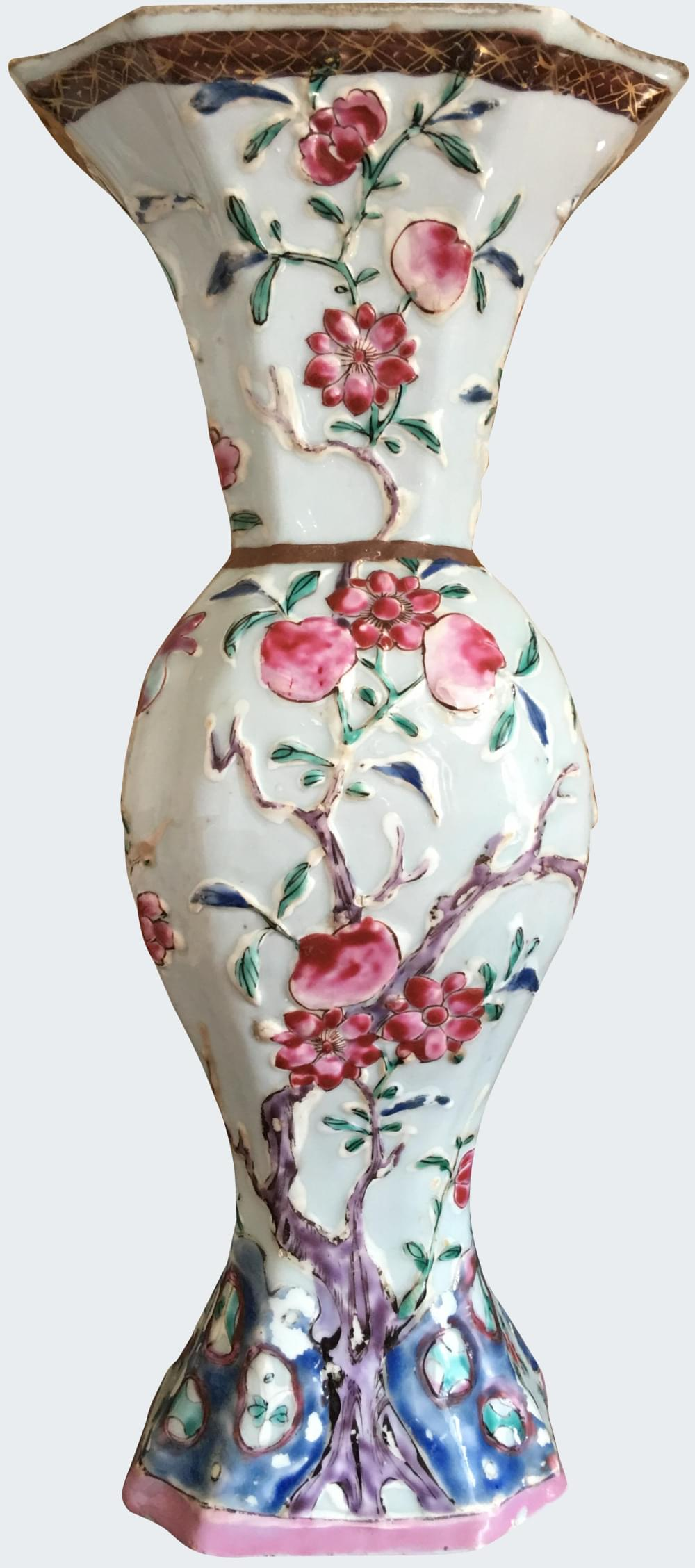 Famille rose Porcelaine Fin de l'époque Yongzheng (1723-1735) ou début de l'époque Qianlong (1735-1795), Chine
