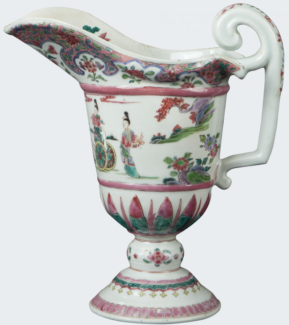 Famille rose Porcelaine Yongzheng (1723-1735), vers 1725, China