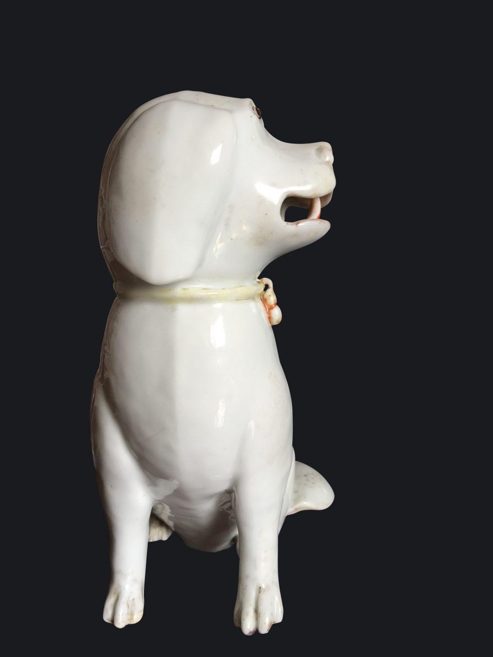 Biscuit de porcelaine Qianlong (1735-1795), Chine