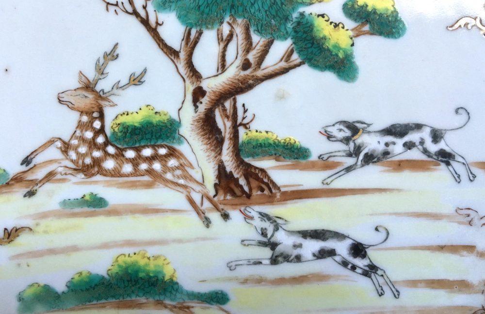 Porcelaine Qianlong (1735-1796), Chine