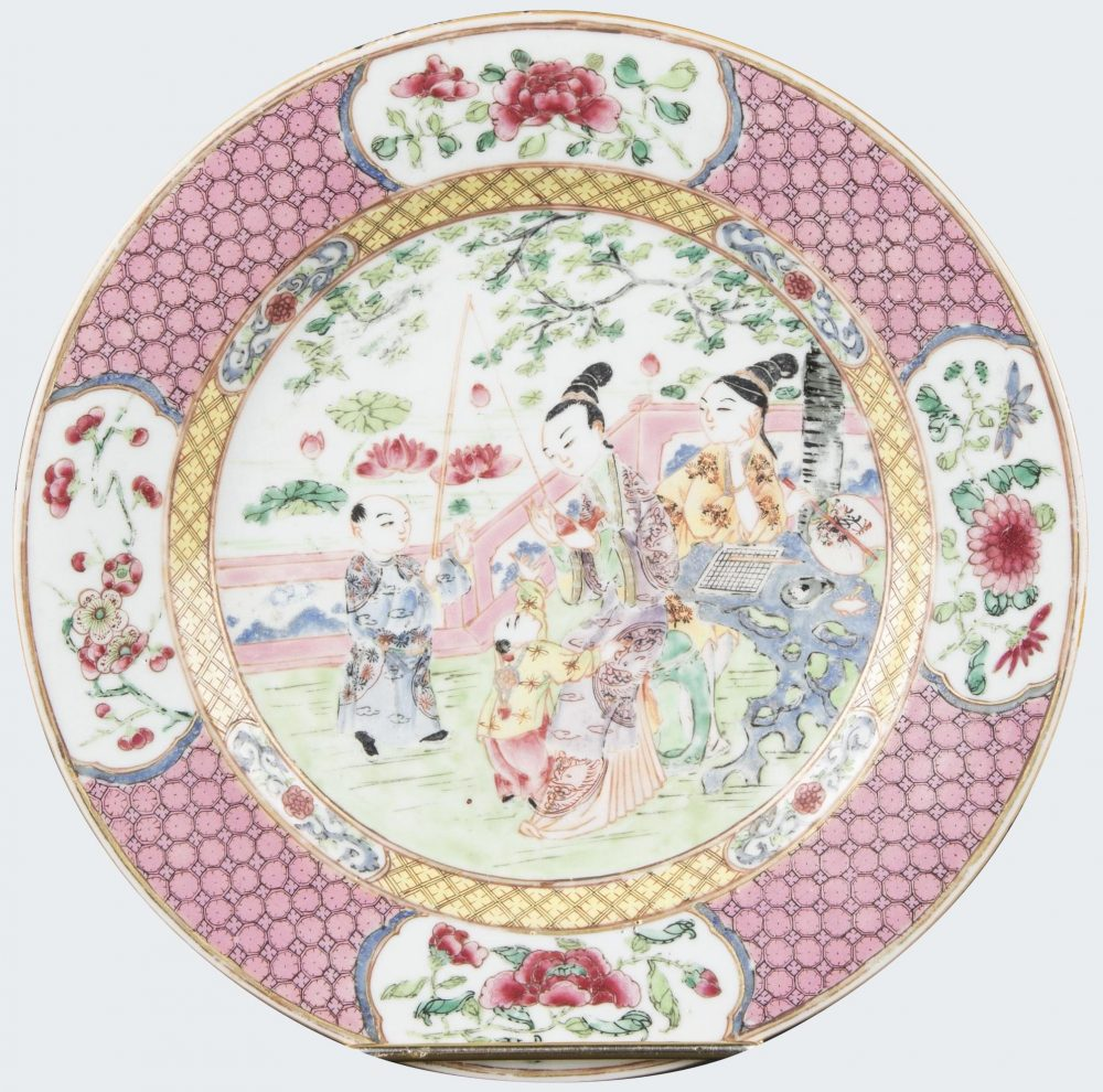 Famille rose Porcelaine Yongzheng (1723-1735), vers 1730, chine