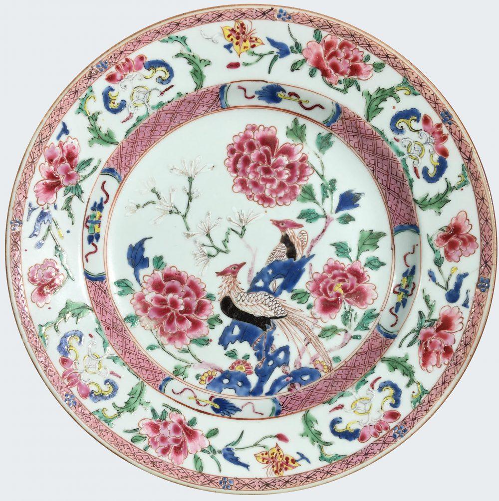 Pocelaine Yongzheng (1723-1735), Chine