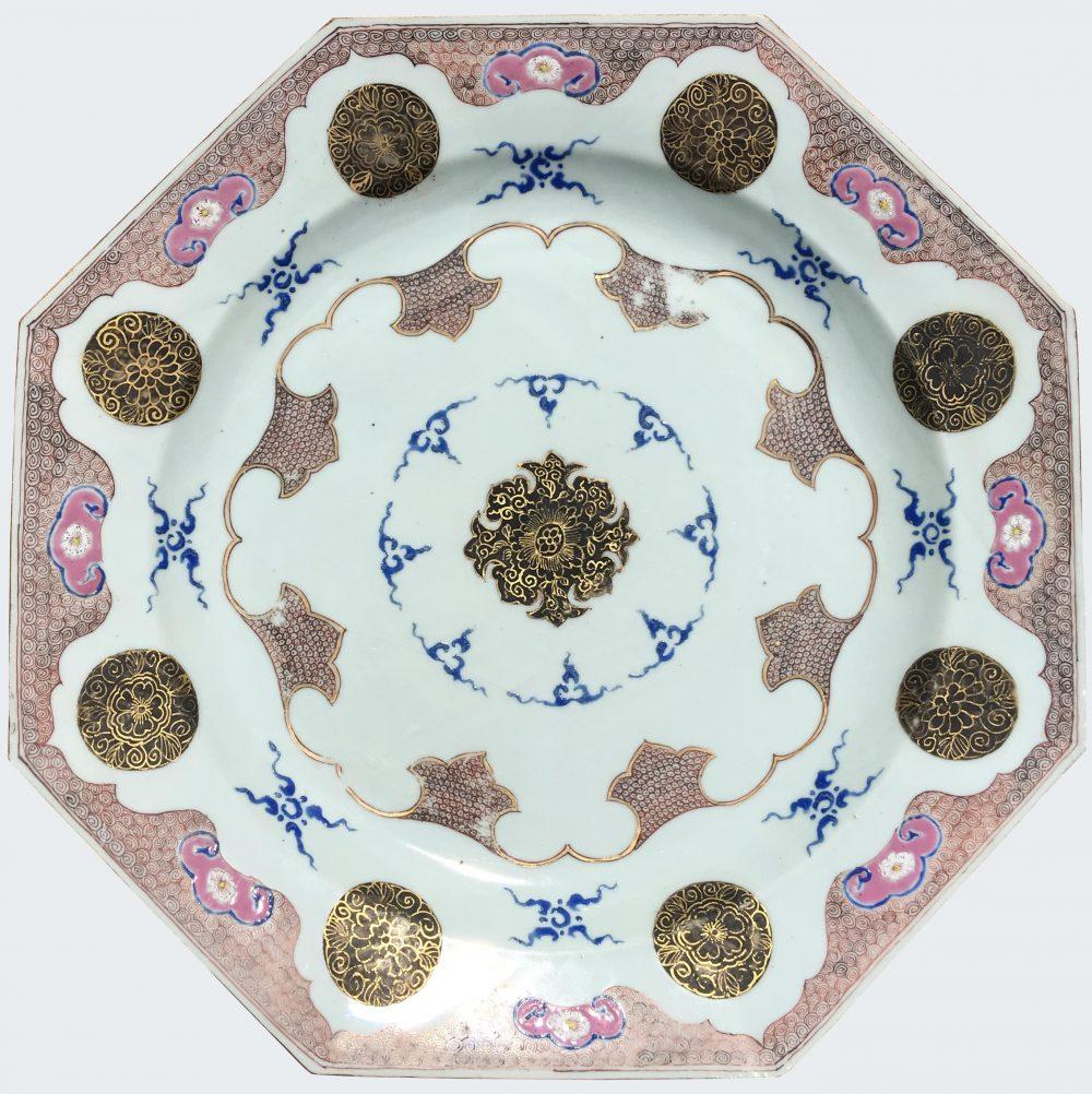 Famille rose Porelaine Qianlong (1736-1795), circa 1740, Chine