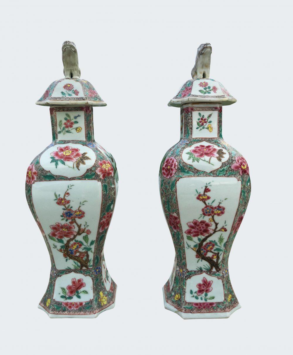 Famille rose Porcelaine Qianlong (1735-1795), vers 1730/1740, Chine