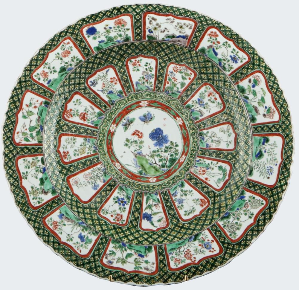 Famille verte Porcelaine Kangxi (1662-1722), vers 1660/1680, Chine