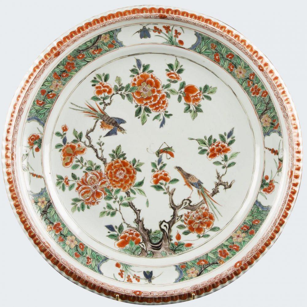 Famille verte Porcelaine Kangxi (1662-1722), China