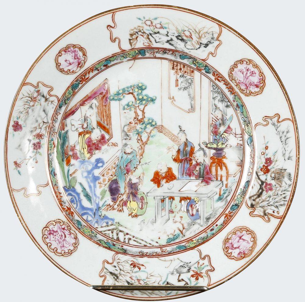 Porcelaine Qianlong (1736-1795), vers 1740, Chine