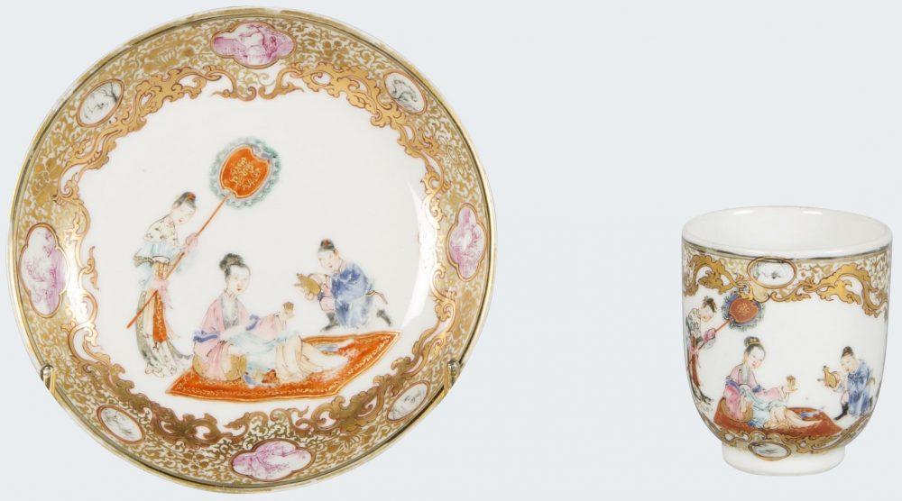Famille rose Porcelain fin de l'époque Yongzheng (1723-1735), début de l'époque Qianlong (1735-1795), Chine