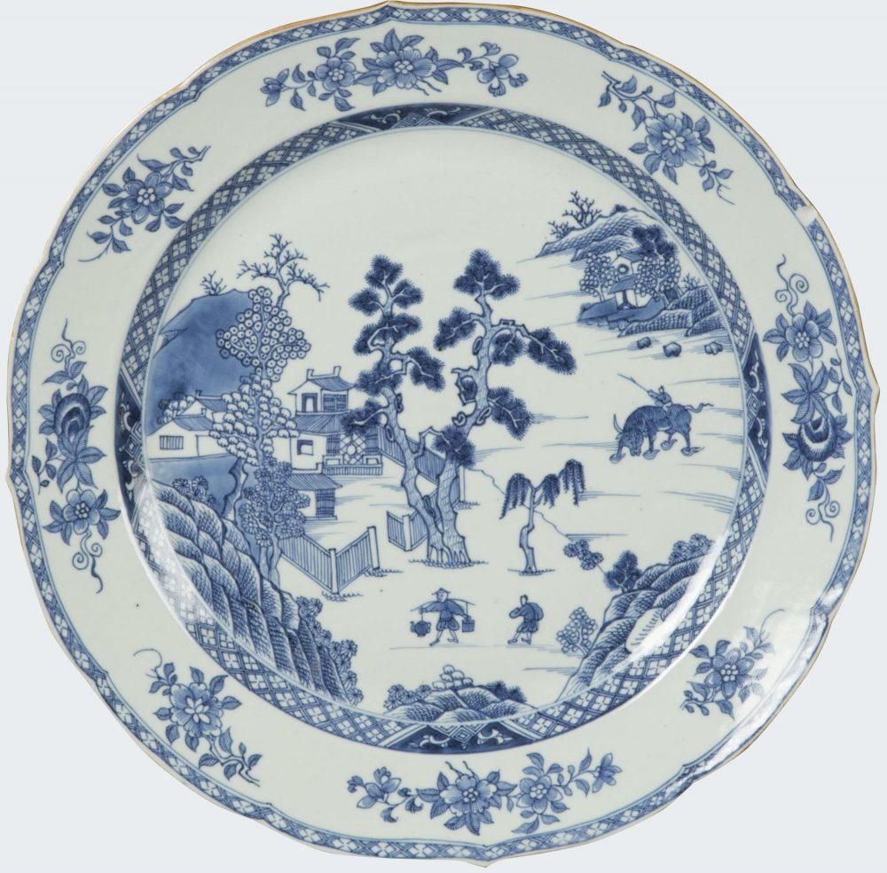 Porcelaine Qianlong (1736-1795), Chine