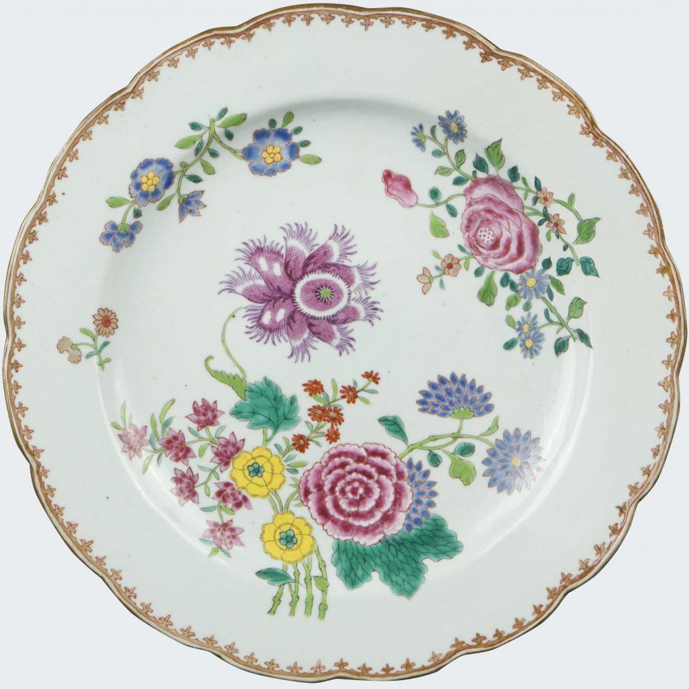 Famille rose Porcelaine Qianlong (1736-1795), vers 1760-1770, Chine