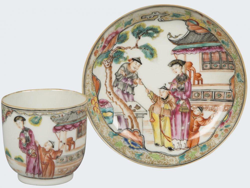 Porcelaine Yongzheng (1723 - 1735), Chine