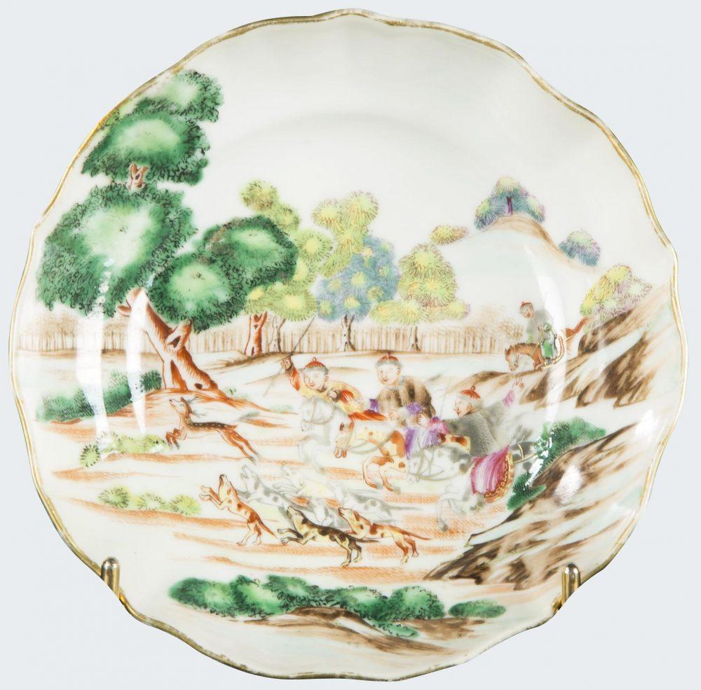 Famille rose Porcelaine Qianlong (1736-1795), vers 1770-1780., Chine