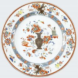 Famille rouge Porcelaine Yongzheng (1723-1735), Chine
