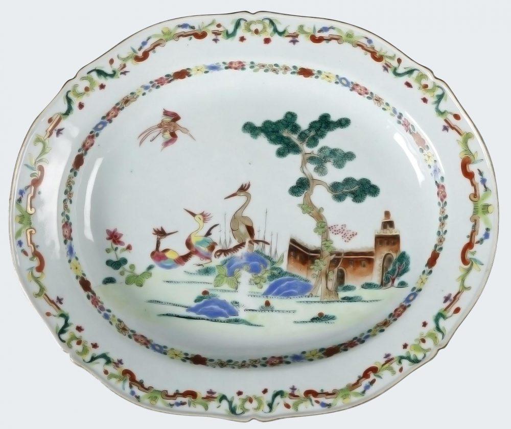 Famille rose Porcelaine Qianlong (1735-1795), vers 1745, Chine