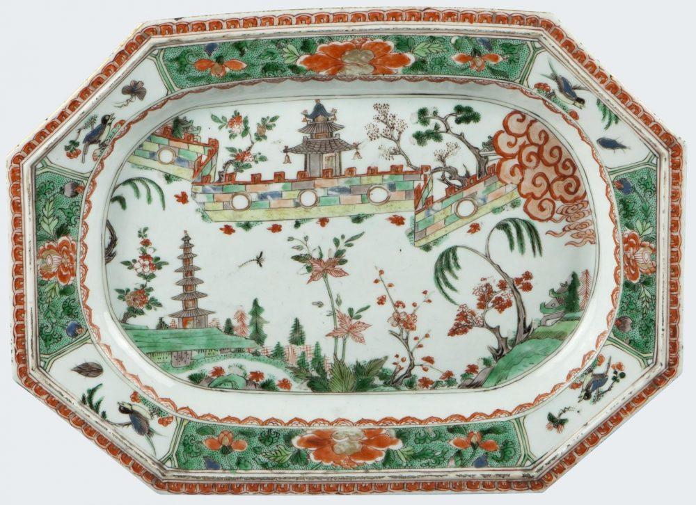 Famille verte Porcelaine Kangxi (1662-1722), vers 1690-1700, Chine