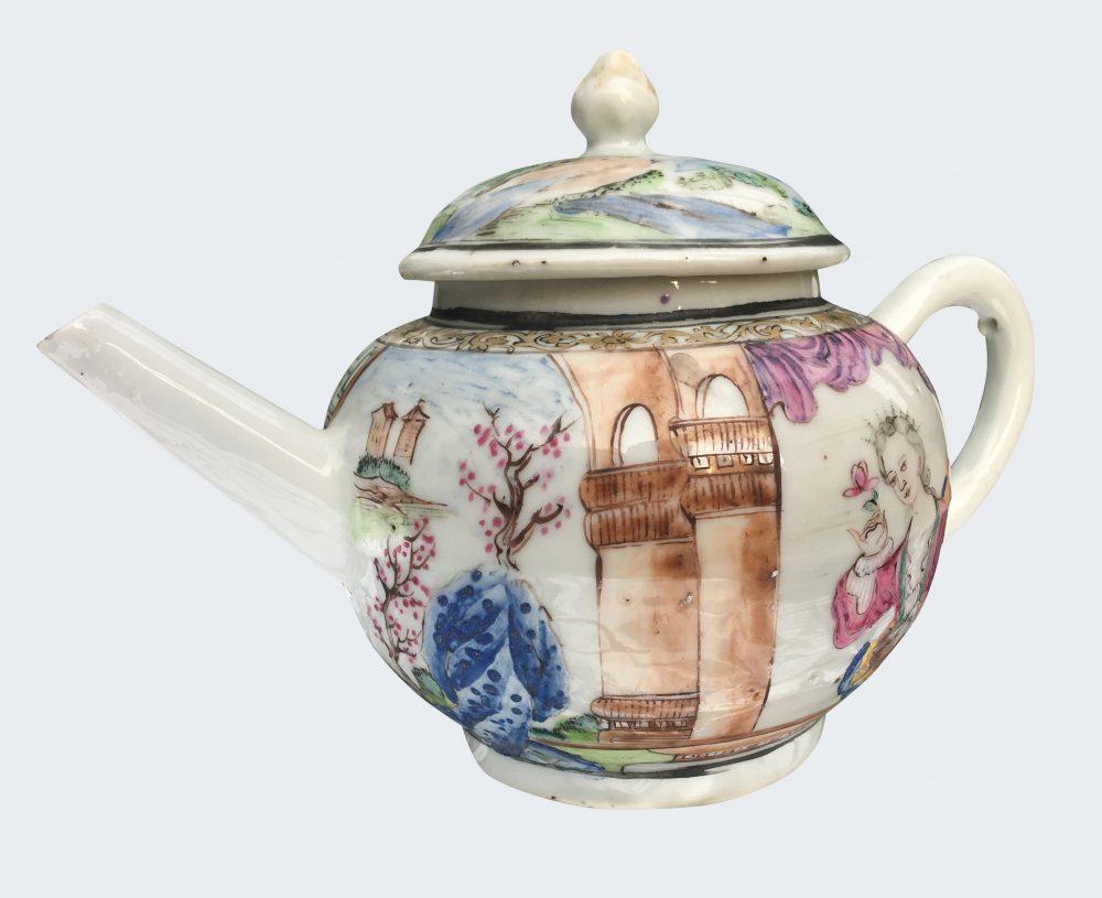 Famille rose Porcelaine Fin de la période Yongzheng (1723-1735)/début de la période Qianlong (1736-1795), China