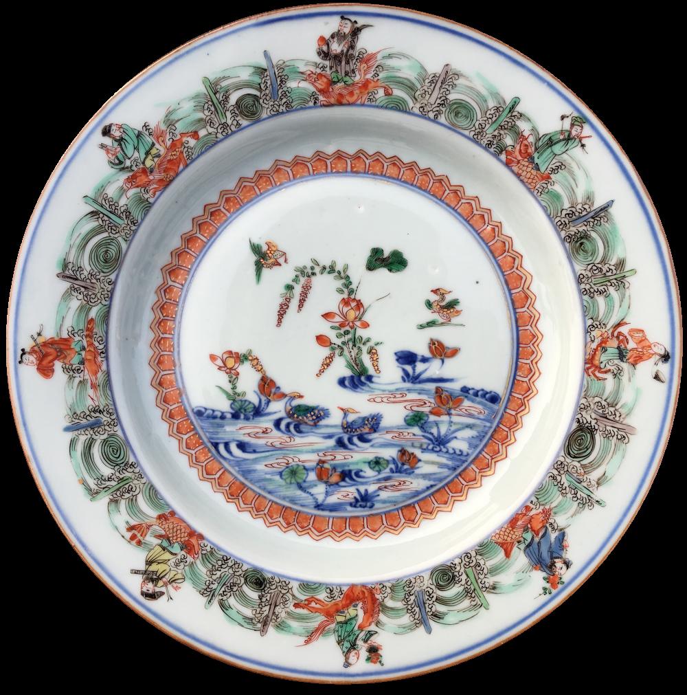 Porcelaine Kangxi (1662-1722), vers 1720, Chine