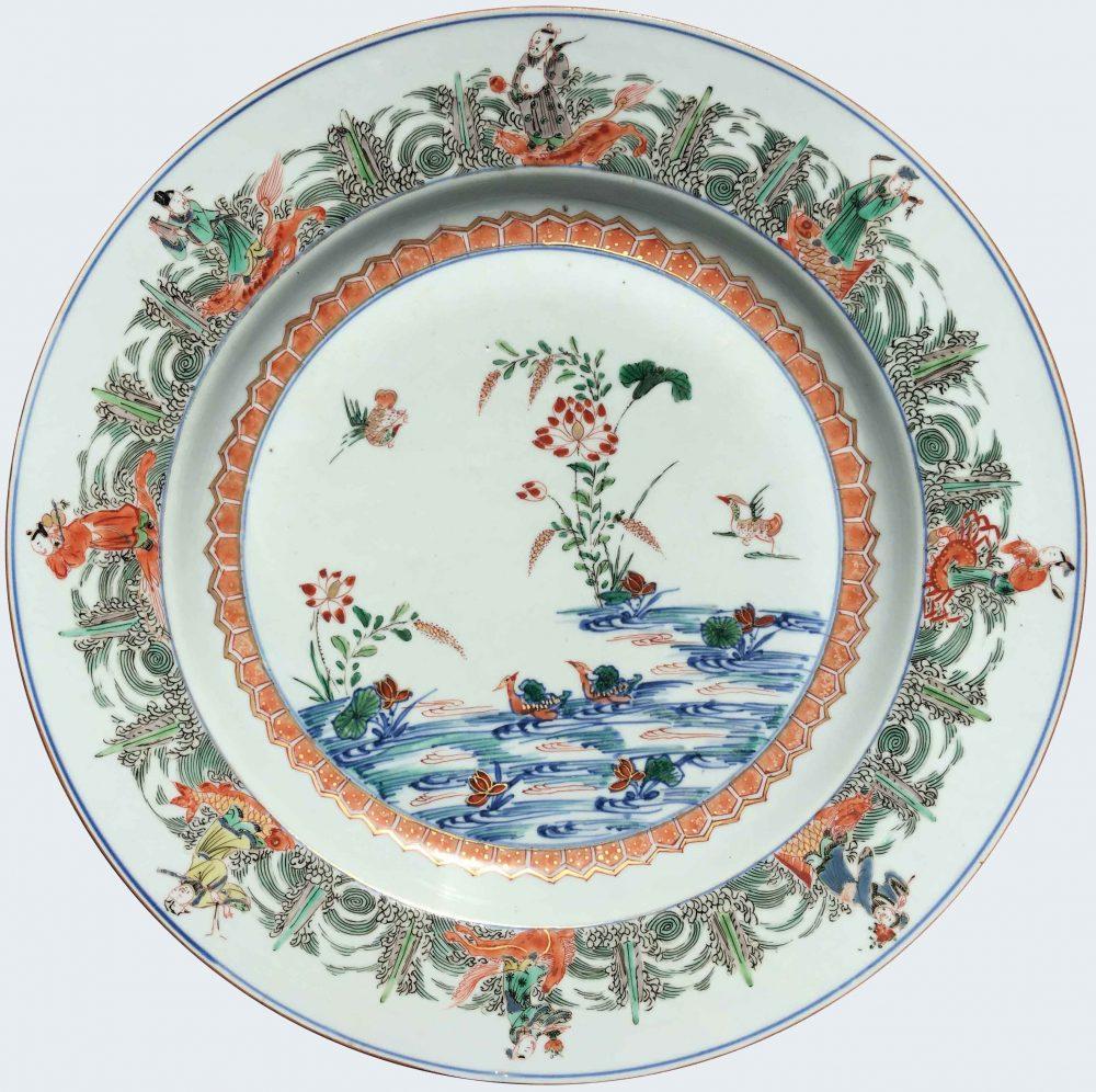 Porcelaine Kangxi (1662-1722), circa 1720, Chine