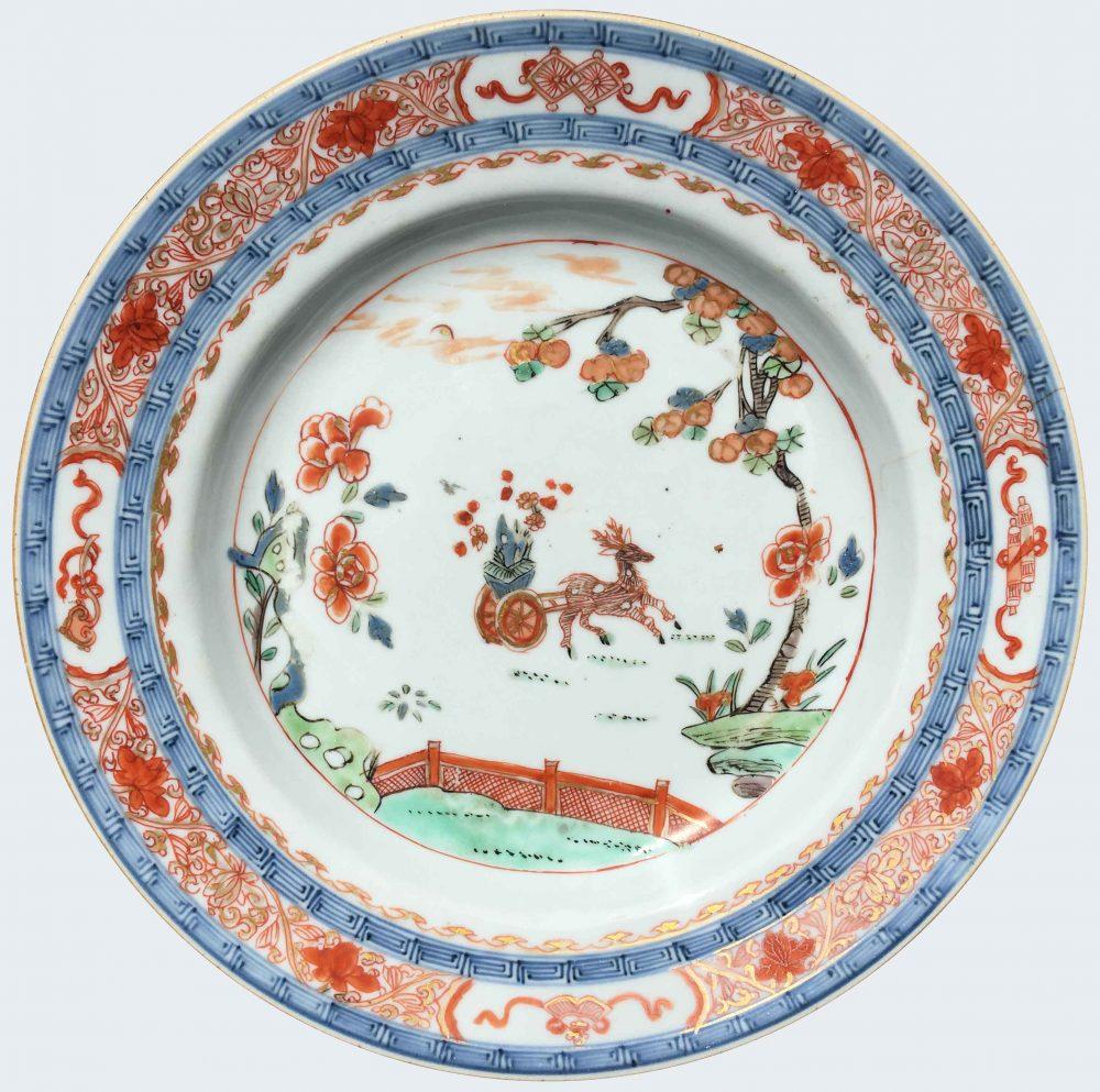 Famille verte Porcelaine Kangxi (1662-1722) or Yongzheng period (1723-1735), Chine