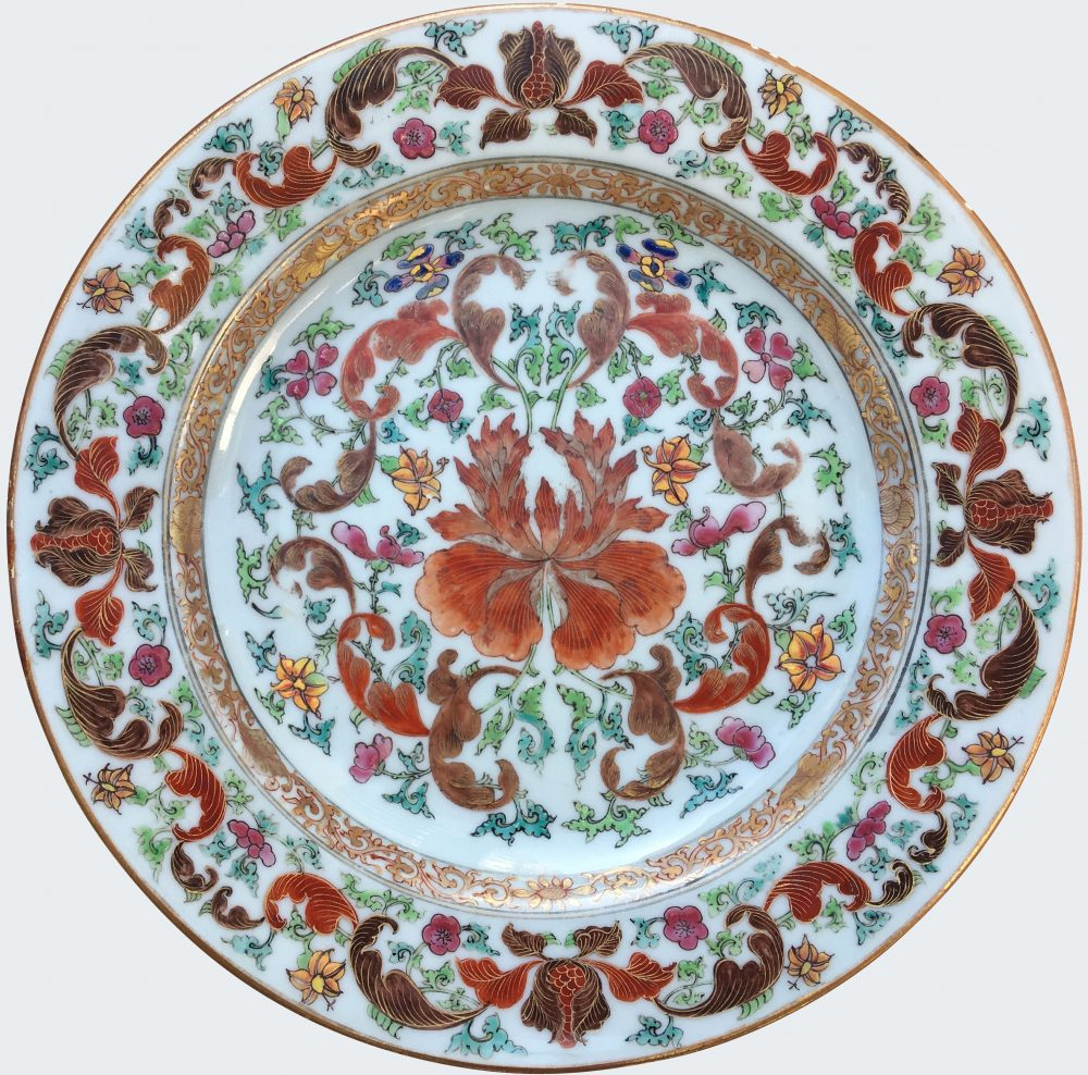 Famille rose Porcelaine Yongzheng (1723-1735), circa 1730-1740, Chine
