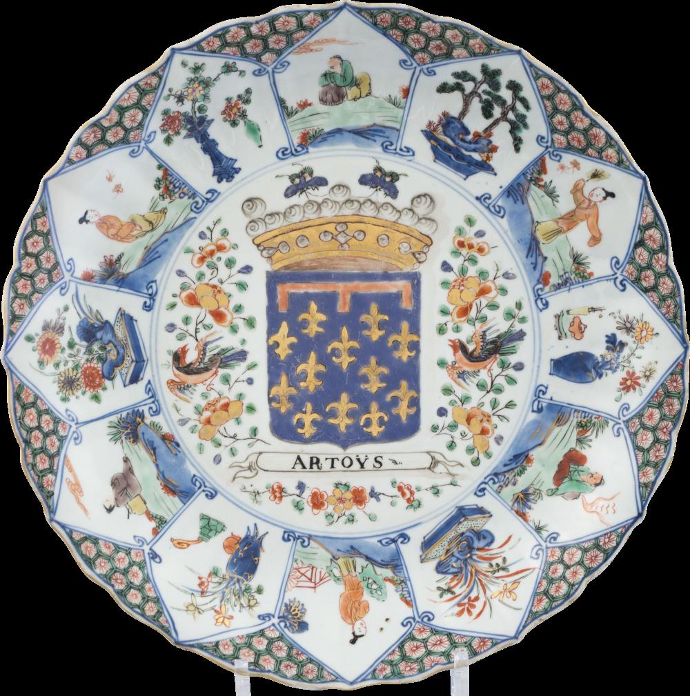 Famille verte Porcelaine Kangxi (1662-1722), circa 1710-1725, Chine