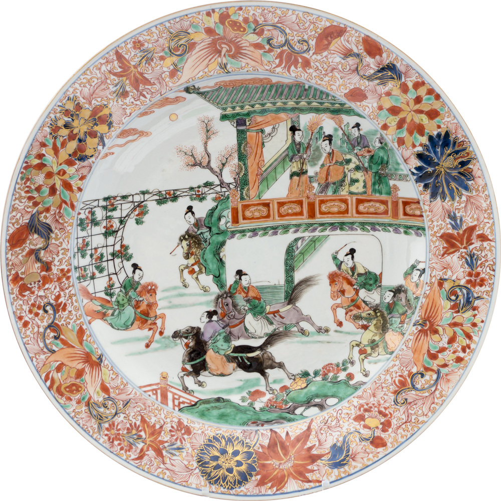 Porcelaine Kangxi (1662-1722), circa 1710, Chine