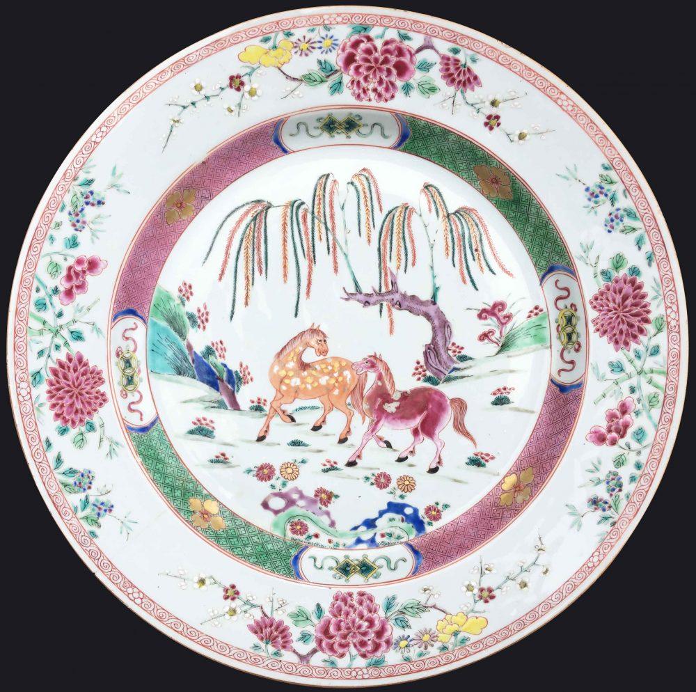 Famille rose Porcelaine Yongzheng (1723-1735), Chine (Jingdezhen kilns, Jiangxi province)