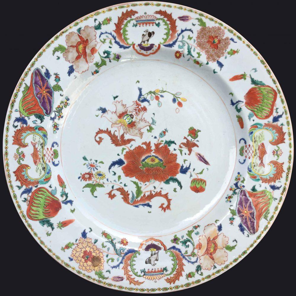 Porcelain Yongzheng (1723-1735) ou époque Qianlong (1735-1795), Chine