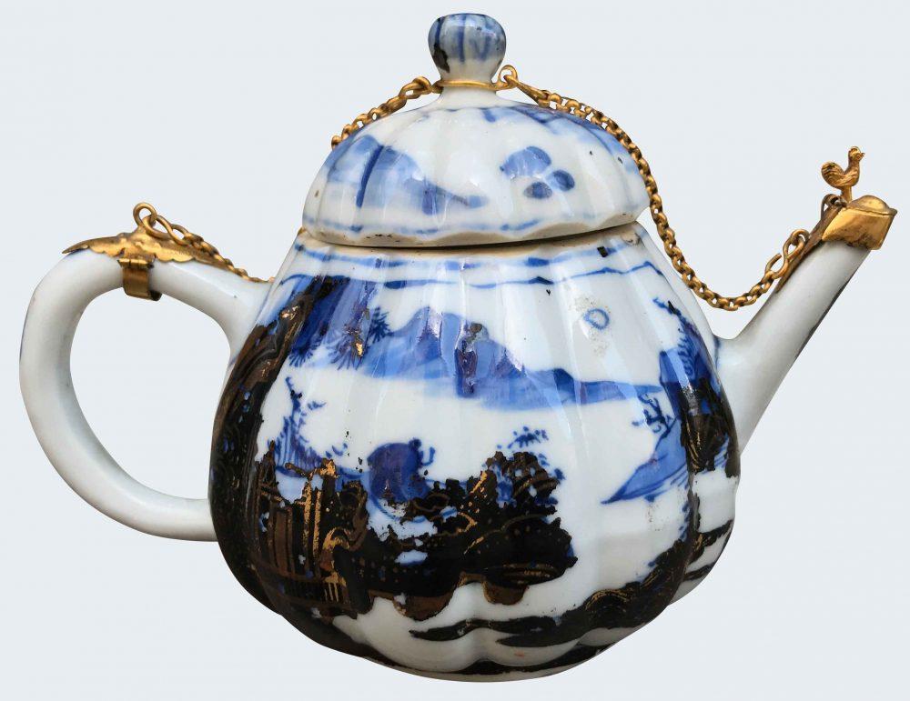 Porcelaine Kangxi (1662-1722), la monture du début du XVIIIe siècle , Chine