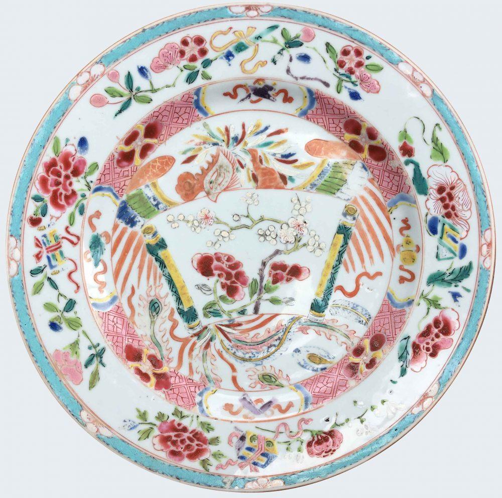 Famille rose Porcelain Yongheng (1723-1735), Chine