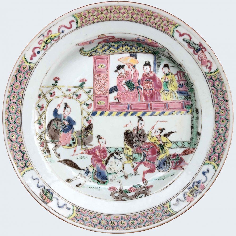 Famille rose Porcelaine Yongheng (1723-1735), Chine