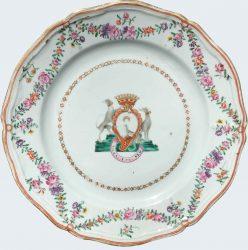 Porcelain Qianlong (1735-1795), circa 1760, Chine