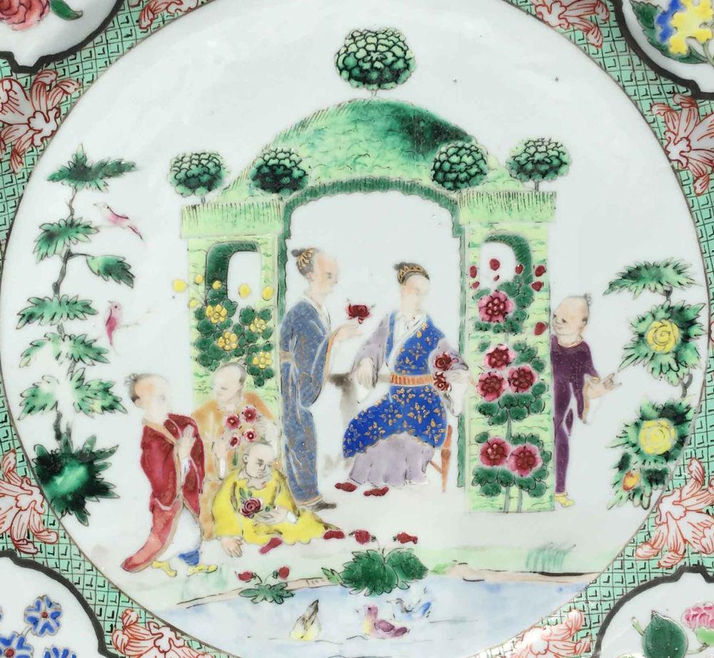 Porcelaine Qianlong (1736-1795), circa 1740, Chine