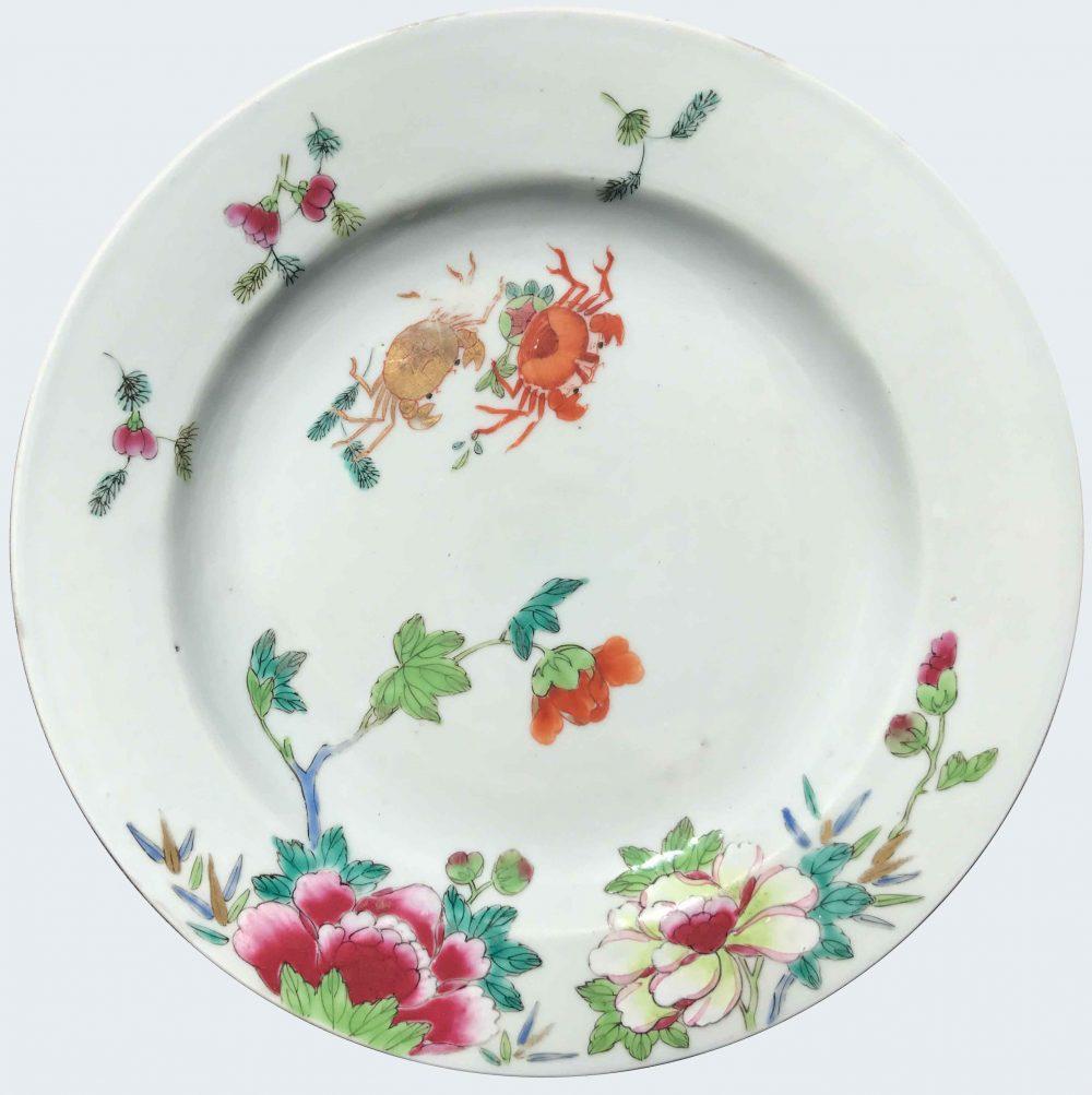 Famille rose porcelaine Qianlong (1735-1795), circa 1730/1740, Chine
