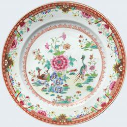 Famille rose Porcelaine Qianlong (1735-1795), circa 1775, Chine