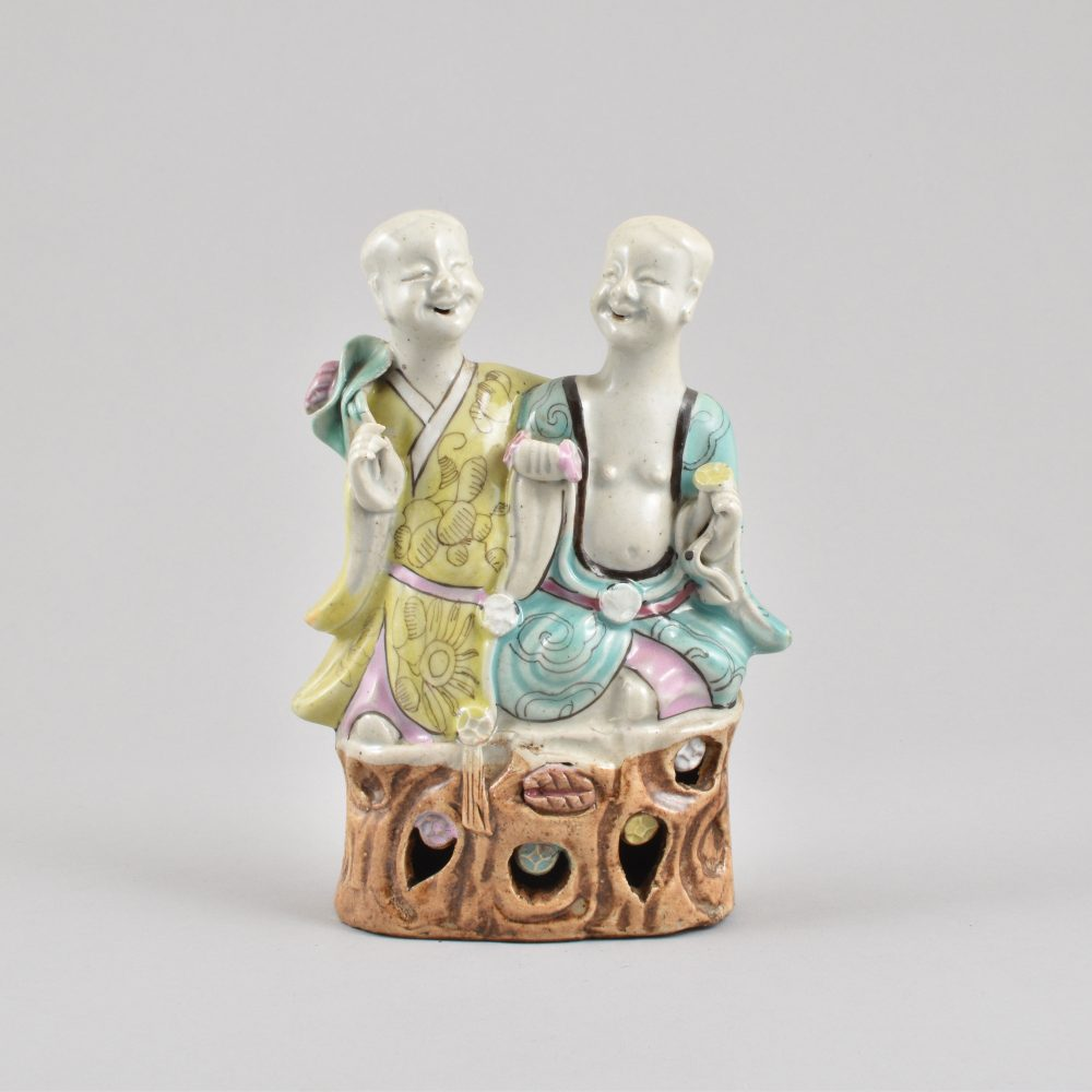 Famille rose Porcelaine Qianlong (1735-1795) / Jiajing (1796-1820), Chine