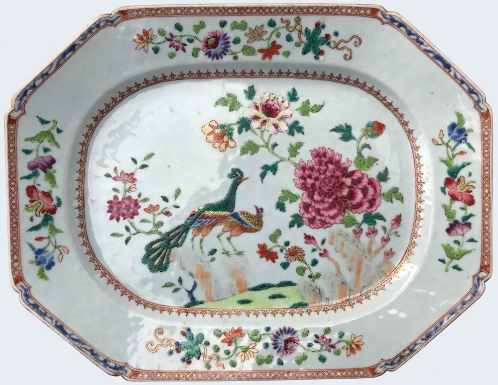 Famille rose Porcelain Qianlong (1735-1795), circa 1760, Chine