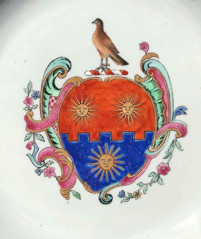 Famille rose Porcelaine Qianlong (1735-1795), circa 1755, Chine