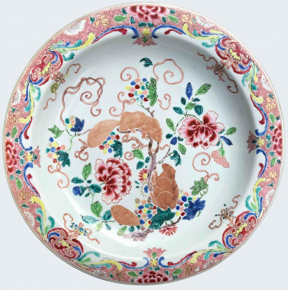 Famille rose Porcelaine Fin de l'époque Yongzheng (1723-1735), début de l'époque Qianlong (1736-1795), circa 1730/40, Chine