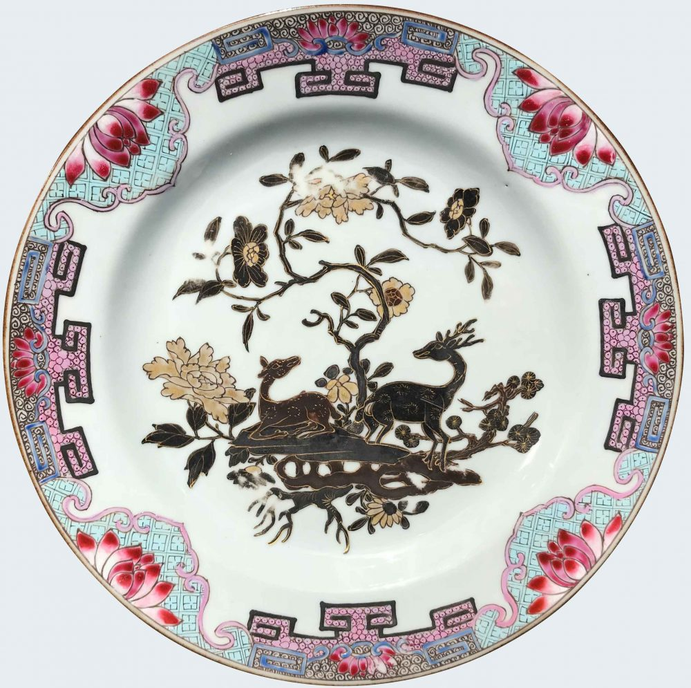 Famille rose Porcelaine Yongzheng (1723-1735), circa 1730/40, Chine